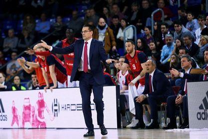 """Martínez: """"Intento que mis jugadores vivan el presente y disfruten el momento"""""""