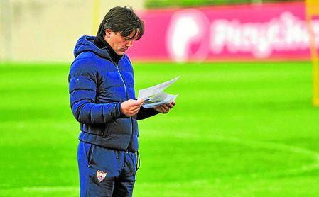 Montella medita con quién reemplazar al ex del Getafe CF en el extremo derecho.