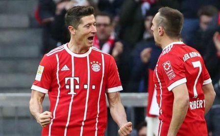 El Bayern destroza al Dortmund y se calienta para el duelo contra el Sevilla