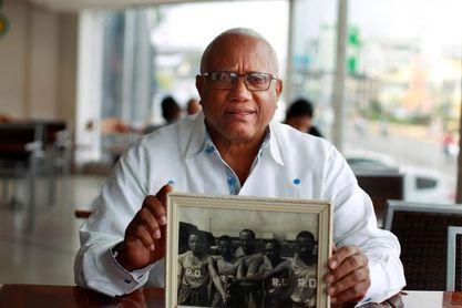 El dominicano ´Popo´ Veras recuerda las hazañas de Beamon o Evans... y algún disparo