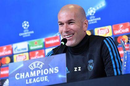 """Zidane: """"Esto no tiene nada que ver con lo que pasó hace diez meses"""""""