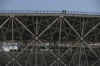 El estadio de Volgogrado, antigua Stalingrado, recibe la luz verde