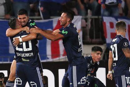1-1. Universidad de Chile y Racing empatan en un duelo intenso y siguen líderes del Grupo E