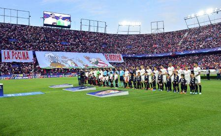 Los jugadores del Sevilla se conjuran para la vuelta