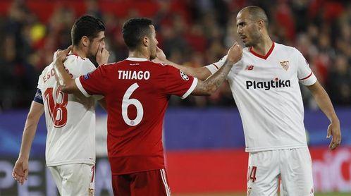 El Sevilla pasa página de la derrota ante el Bayern y prepara ya la cita de Vigo