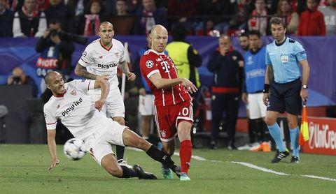 El Sevilla remontó 1 de 2 eliminatorias europeas tras perder la ida en casa