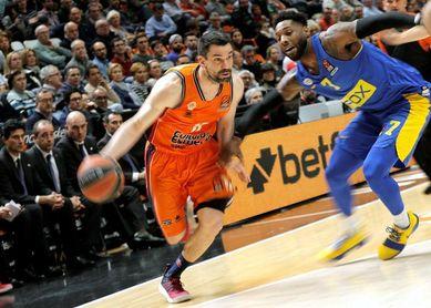 87-84. Un Valencia motivado logra despedir la Euroliga con un triunfo ante el Maccabi