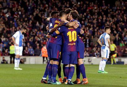 El Barcelona iguala el récord de la Real Sociedad de 38 partidos sin perder