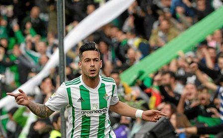 Sergio León inauguró el marcador con un buen tanto.