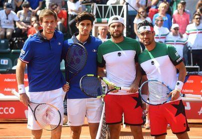 El dobles pone a Francia, Alemania y Croacia a orillas de las semifinales