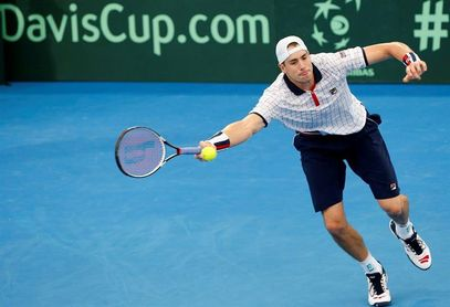 Isner y Querrey sitúan a Estados Unidos (2-0) a un triunfo de semifinales
