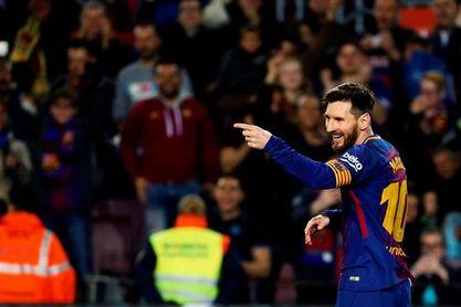 Messi ilumina el récord