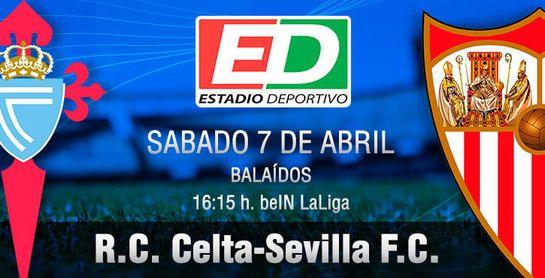 Celta-Sevilla FC: La primera 'final' del mes de abril