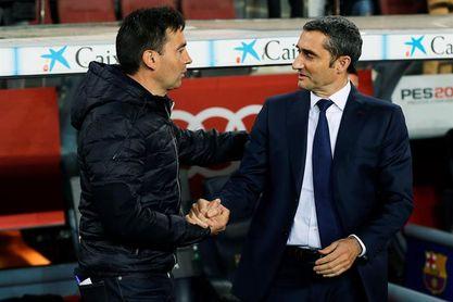 Valverde cumple 50 partidos siendo el entrenador azulgrana con menos derrotas