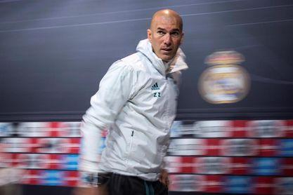 """Zidane: """"El Atlético está donde merece, segundos"""""""