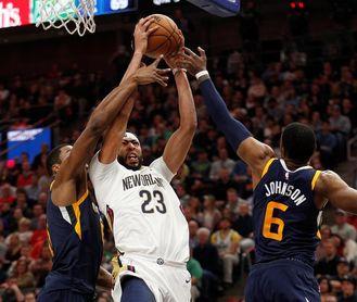 120-126. Davis logra doble-doble en el triunfo de los Pelicans; Mirotic, 28 puntos