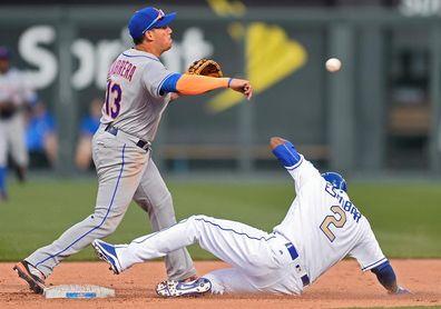2-3. El venezolano Asdrúbal Cabrera anota la carrera ganadora de los Mets