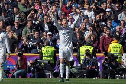 Cristiano marca el gol 500 de los derbis en Liga