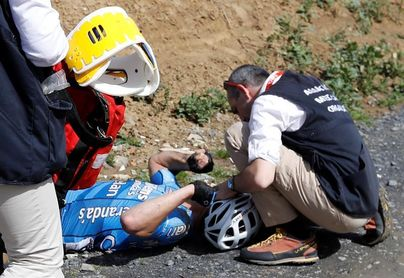 Fallece el belga Goolaerts tras sufrir un paro cardíaco en la París-Roubaix