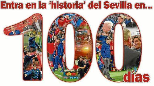 Montella entra en la 'historia' del Sevilla en 100 días