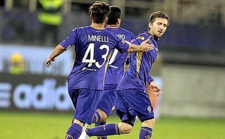 Montella hizo jugar a Simone Minelli, quien asistió a Marko Marin, en un partido de Europa League.
