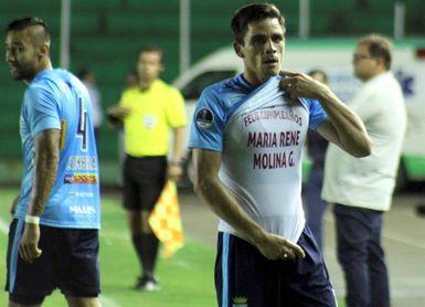 1-0. El Blooming da el primer golpe al Bahía en la Sudamericana