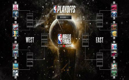 Así quedan los playoff de la NBA.
