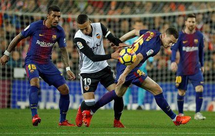 Marcelino nunca le ha ganado al Barcelona en trece precedentes