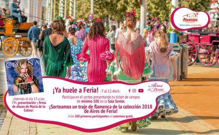Alcampo Tamarguillo celebra la Feria de Abril con su Campaña 'A bailar 2018'