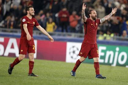 """De Rossi: """"El Liverpool está siendo una revelación, como nosotros"""""""