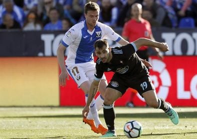 1-0. Un competitivo Leganés agrava la crisis a domicilio del Celta