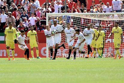 2-2. Sevilla y Villarreal se postulan para Europa con un empate vibrante