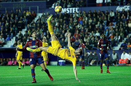 El Atlético, la fortaleza del Metropolitano y la Champions contra el Levante
