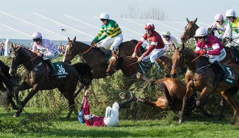 Tiger Roll cumple con los pronósticos y conquista el Grand National 2018