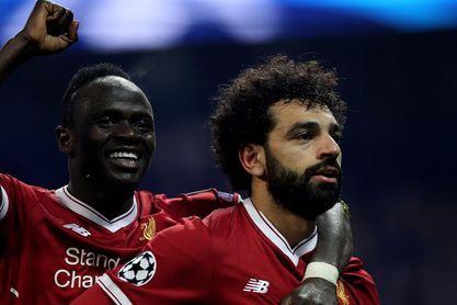 Salah llega a 30 goles en la Premier y el Liverpool consolida la Champions (3-0)