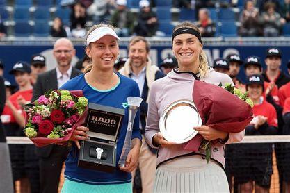 Elise Mertens gana el tercer título de su carrera