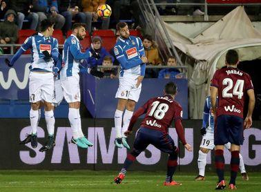 El Eibar, plagado de bajas, la reválida del Espanyol