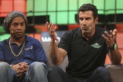 Figo y Ronaldinho, capitanes en el Partido por la Solidaridad