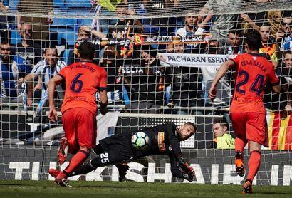 Miguel Ángel Moyá, descartado para jugar ante el Atlético de Madrid