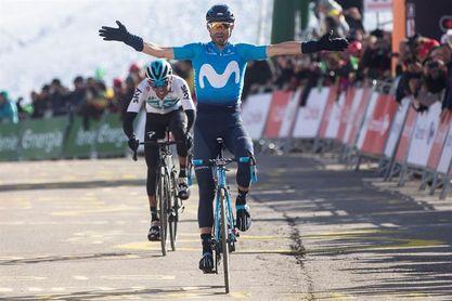 Valverde en busca de la sexta victoria en el Muro de Huy