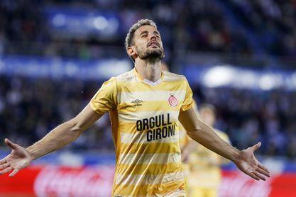 1-2. Aleix García y Stuani acercan al Girona al sueño europeo