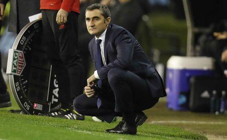 El once que planea Valverde para la final ante el Sevilla