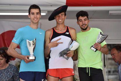 Adel Mechaal y Solange Pereira repiten victoria en la Milla de Bilbao