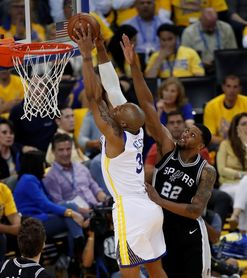 99-91. Durant, Thompson, Green, con suspense, ponen a Warriors en semifinales