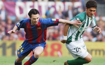 Cuando Andrés Iniesta pudo jugar en el Betis