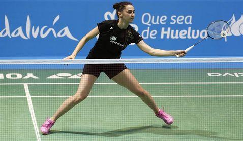 Sara Peñalver ve frustrado su soñado duelo de cuartos con Carolina Marín