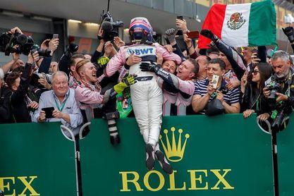 """Pérez, tras su octavo podio en F1: """"Hice las dos mejores vueltas de mi carrera"""""""
