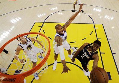 Warriors, exhibición ante Pelicans; Celtics serán rivales de Sixers