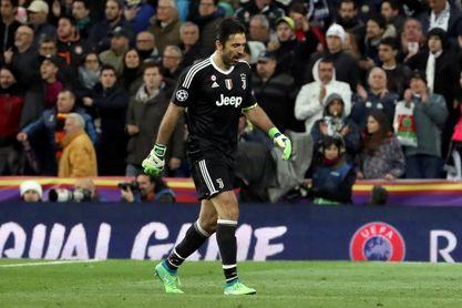 La UEFA abre expediente a Buffon por su expulsión ante el Real Madrid