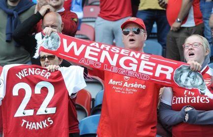 Arsene Wenger se despide del Arsenal con victoria en Huddersfield (0-1)